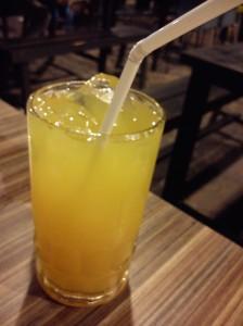Minuman khas Bebek Kalijo