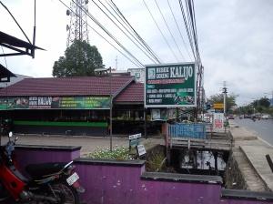 Lokasi warung makan Bebek Kalijo